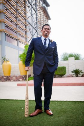 Best Man Lifestyle bat with Laser Personalization
